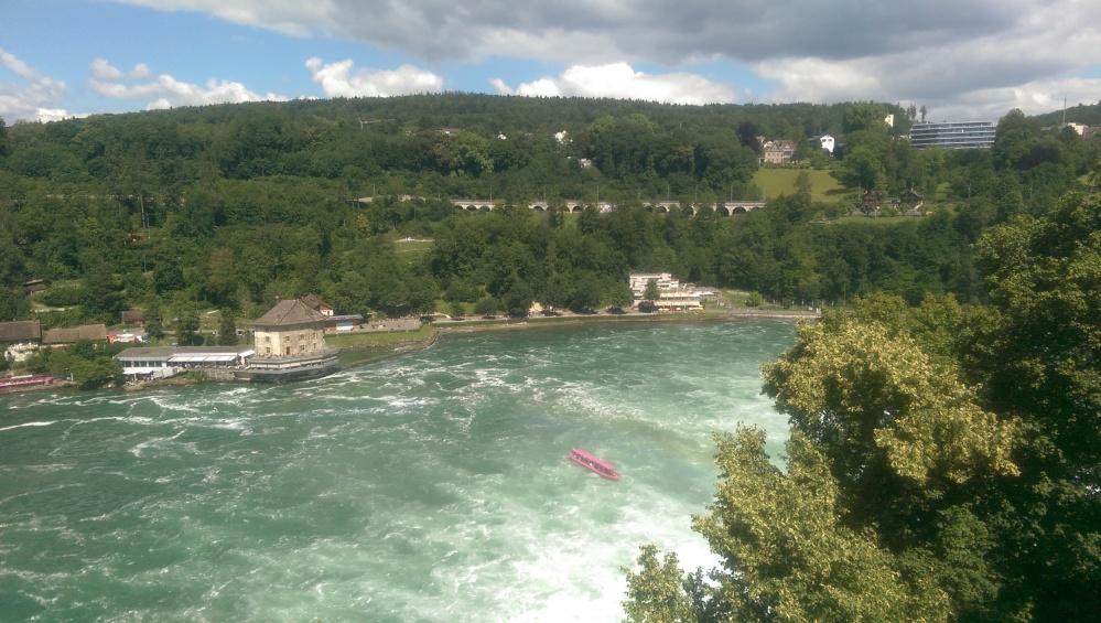Elvetia – Cascada Rinului – Impresii de călătorie
